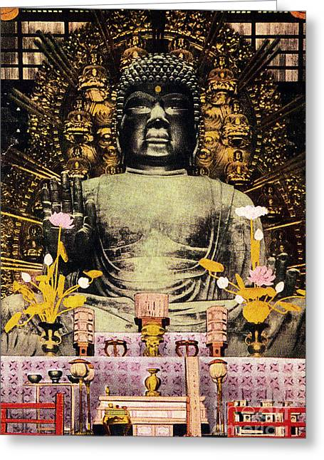Vintage Japanese Art 24 Greeting Card by Hawaiian Legacy Archive - Printscapes
