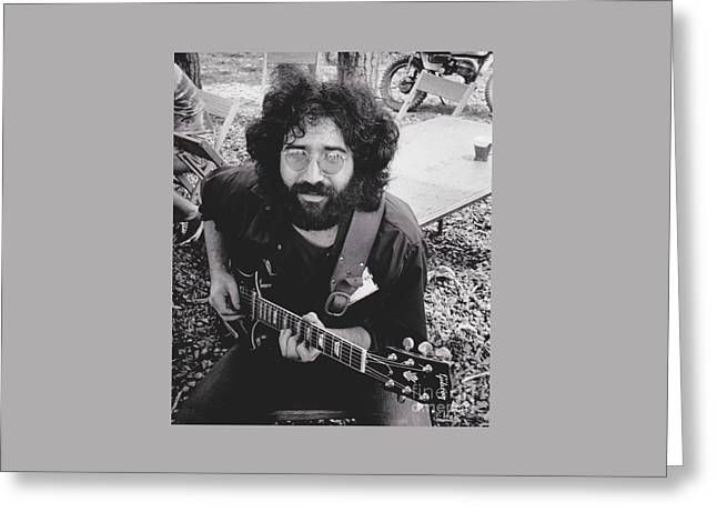 Vintage Jerry Garcia Greeting Card