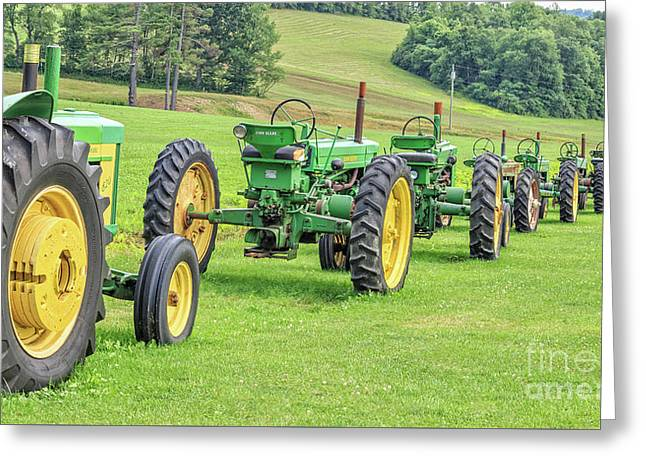 John Deere Tractor Christmas Cards Card