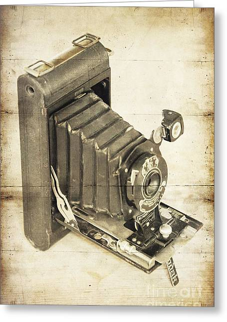 Vintage Kodak Greeting Card by Svetlana Sewell
