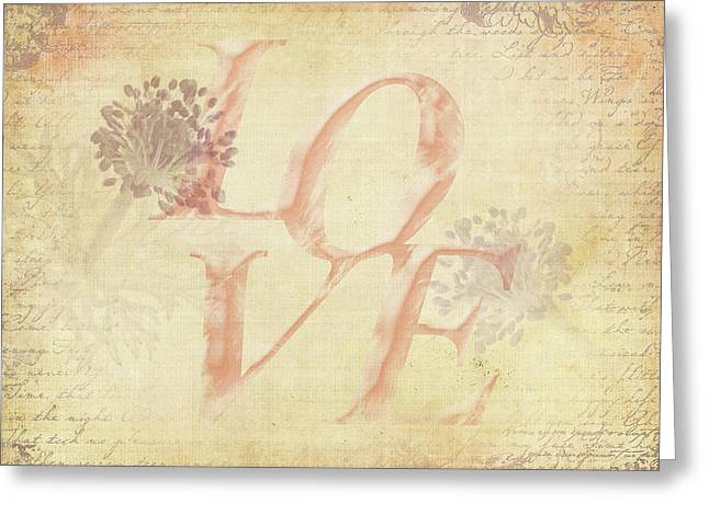 Greeting Card featuring the photograph Vintage Love by Caitlyn Grasso
