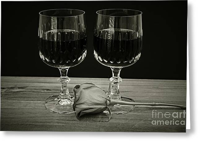 Vintage Love  Greeting Card by Ray Shrewsberry