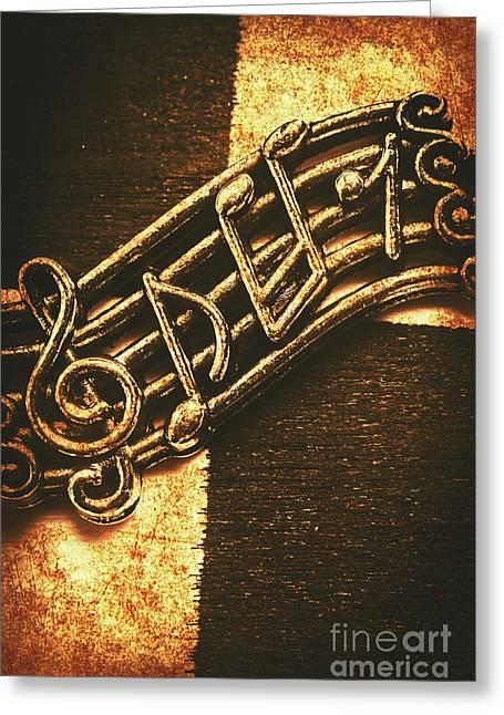 Vintage Melody Greeting Card