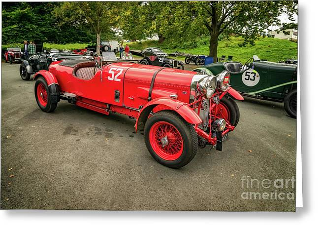 Greeting Card featuring the photograph Vintage Motors by Adrian Evans
