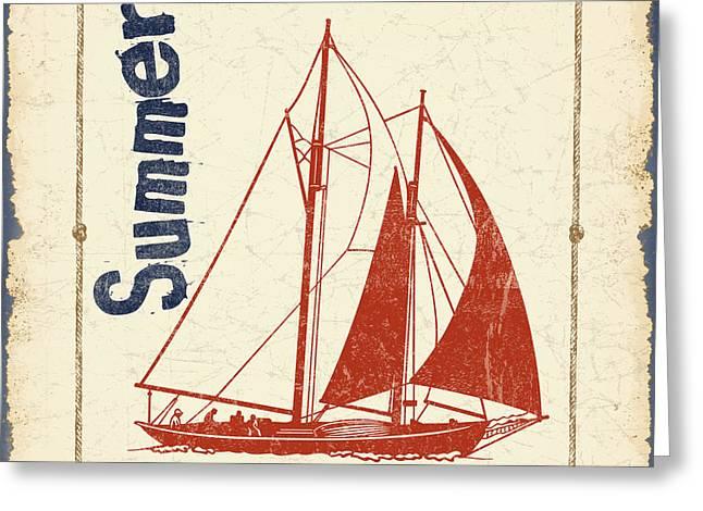 Vintage Nautical-jp2752 Greeting Card