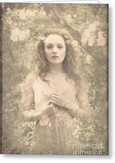 Vintage Portrait Greeting Card