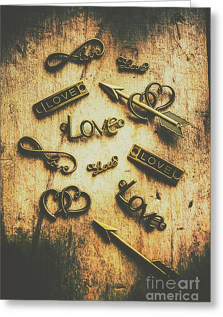 Vintage Romance Greeting Card by Jorgo Photography - Wall Art Gallery