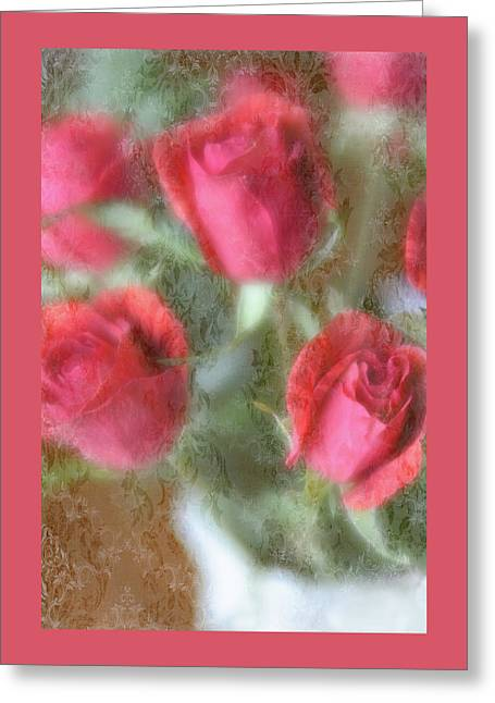 Greeting Card featuring the photograph Vintage Rose Bouquet by Diane Alexander