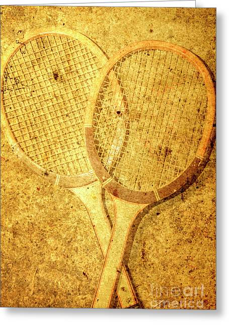 Vintage Sports Greeting Card by Jorgo Photography - Wall Art Gallery