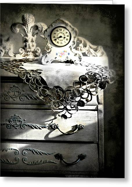 Greeting Card featuring the photograph Vintage Time by Diana Angstadt