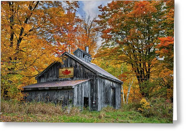 Vermont Sugarhouse Greeting Card