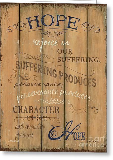 Vintage Wtlb Hope Greeting Card