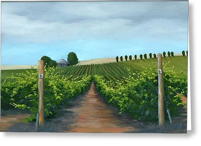 Vintners Winery Greeting Card