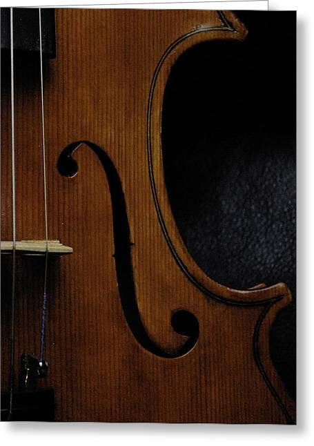 Viola No1 Half B Greeting Card