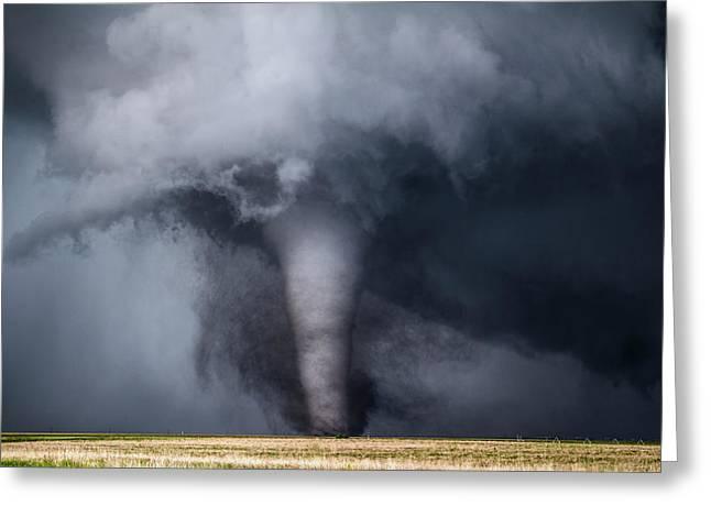 Violent Tornado Greeting Card