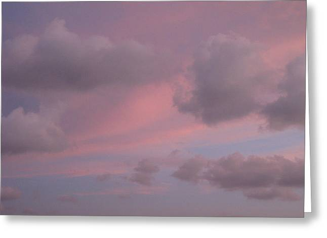 Violet Cloud Formation 1 Greeting Card
