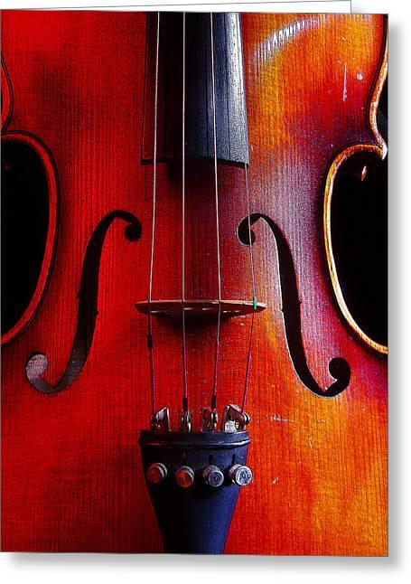 Violin # 2 Greeting Card