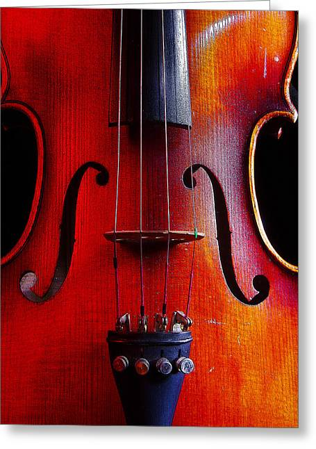 Violin # 2 Greeting Card