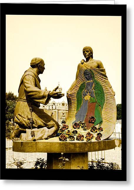 Virgen De Guadalupe 1 Greeting Card