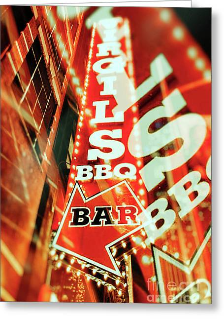 Virgils Real Bbq New York City Greeting Card
