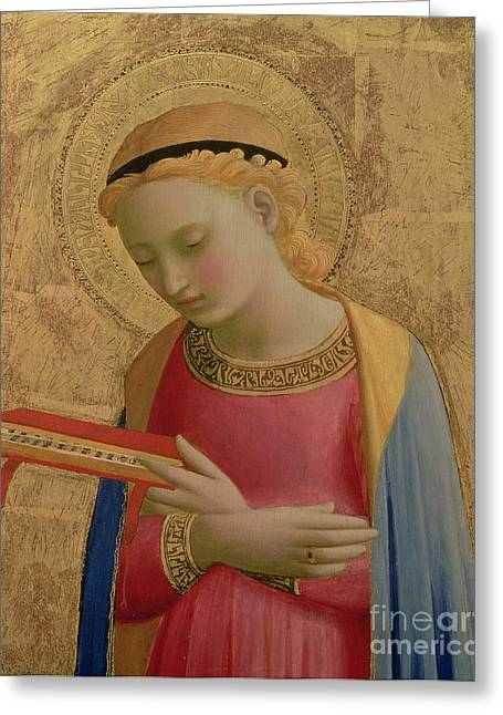 Virgin Annunciate Greeting Card