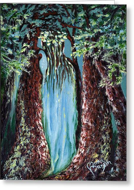Virgin Forest Greeting Card