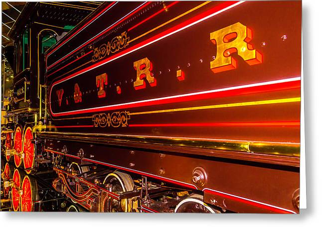 Virginia And Truckee Railroad Greeting Card by Garry Gay