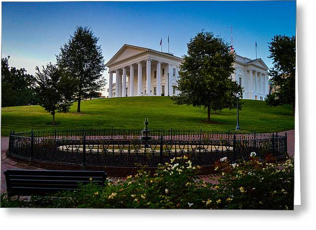 Virginia Capitol Building Greeting Card