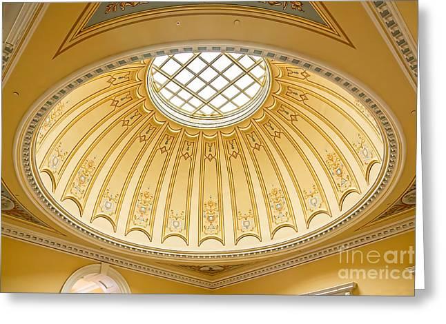 Virginia Capitol - Dome Profile Greeting Card