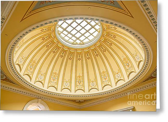 Virginia Capitol - Dome Profile Greeting Card