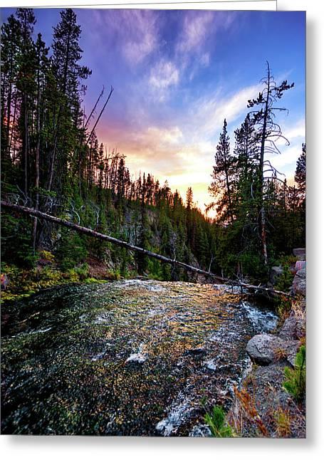 Virginia Cascades Greeting Card by Jeremy Clinard