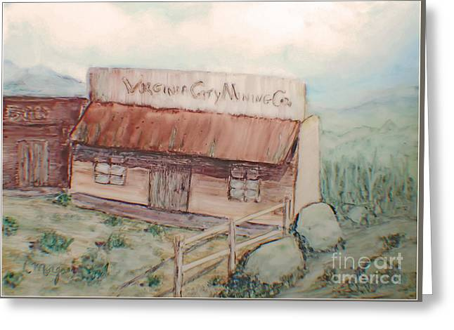 Virginia City Mining Co. Greeting Card