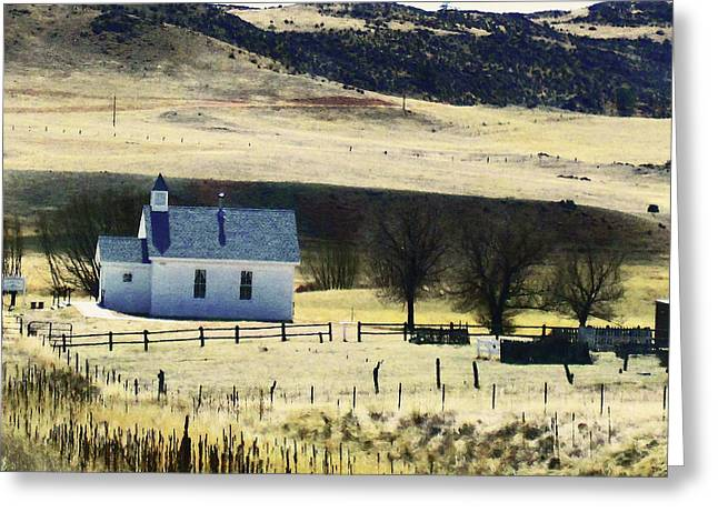 Virginia Dale Colorado Greeting Card