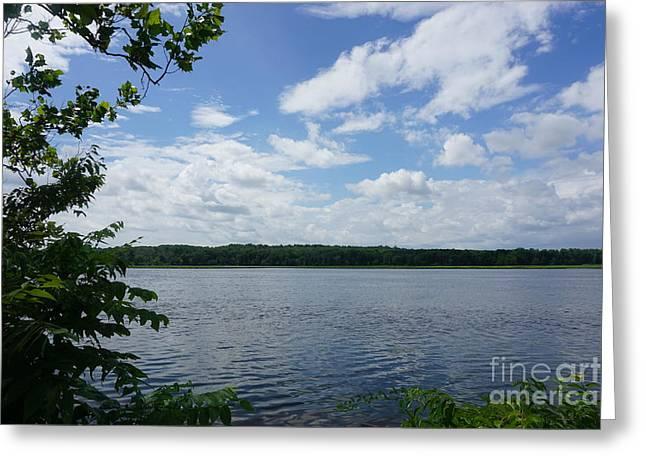 Virginia Lake Greeting Card