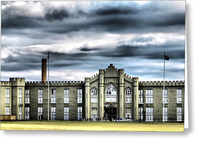 Vmi Greeting Cards - Virginia Military Institute Greeting Card by Kathy Jennings