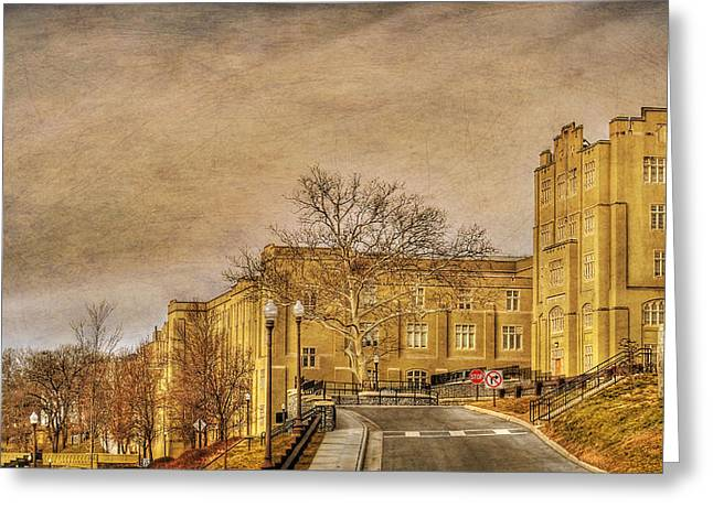 Virginia Military Institute Greeting Card by Todd Hostetter