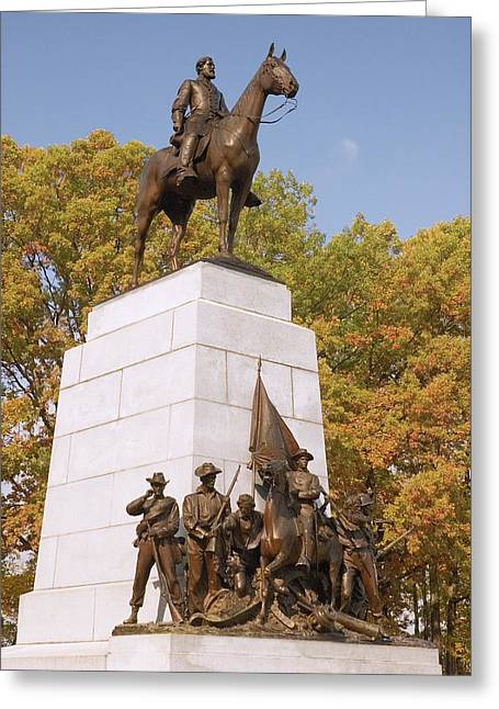 Virginia State Monument Greeting Card