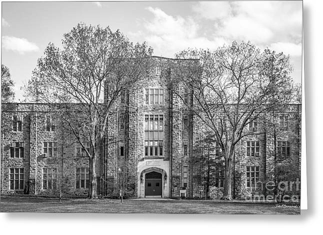 Virginia Tech Seitz Hall Greeting Card by University Icons