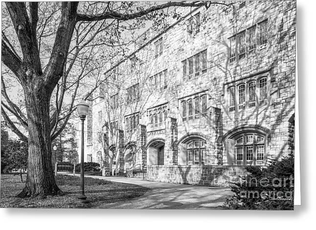 Virginia Tech Smyth Hall Greeting Card by University Icons