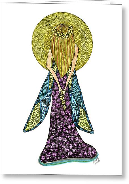 Virgo Greeting Card