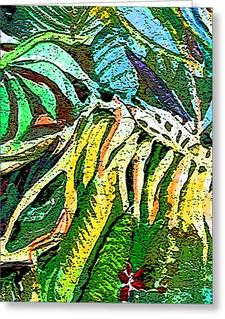 Viridian Greeting Card by Mindy Newman