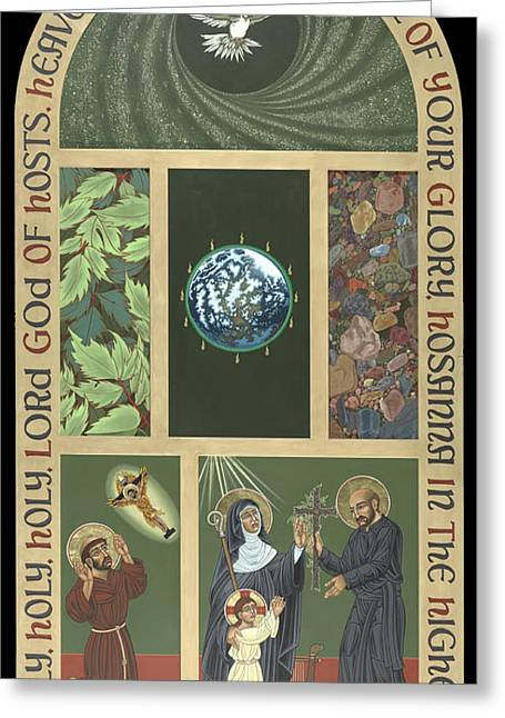 Viriditas - Finding God In All Things Greeting Card