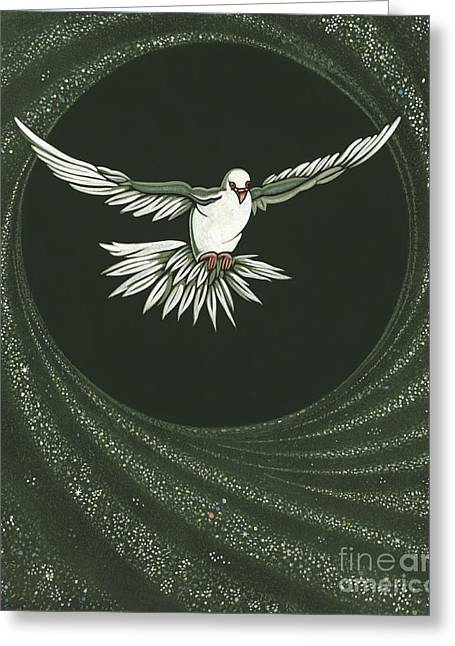 Viriditas-holy Spirit Detail Greeting Card