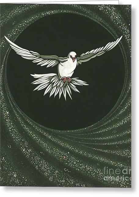 Viriditas-holy Spirit Detail Greeting Card by William Hart McNichols