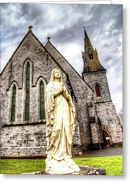 Virign Mary Greeting Card