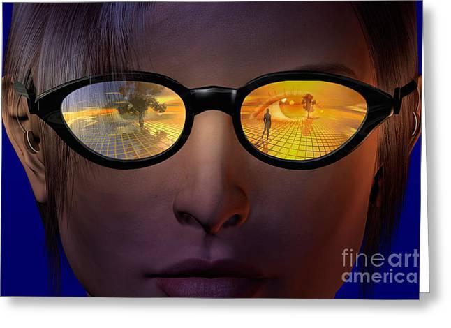 Virtual Reality Greeting Card