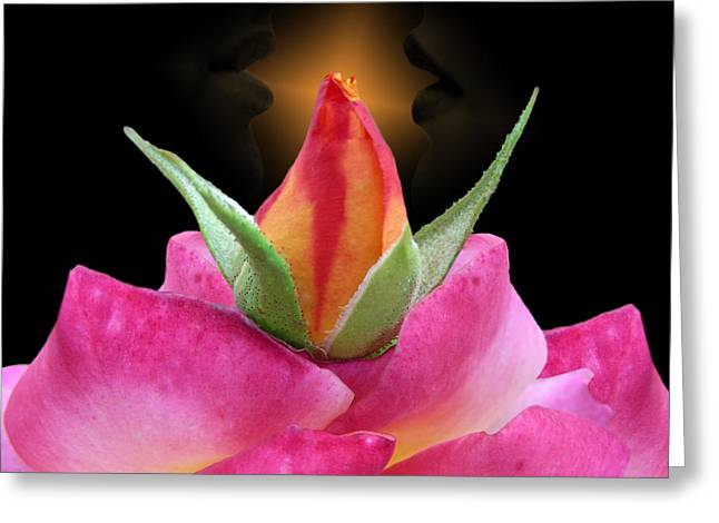 Sensuous Art Greeting Cards - Virtual Greeting Card by Torie Tiffany
