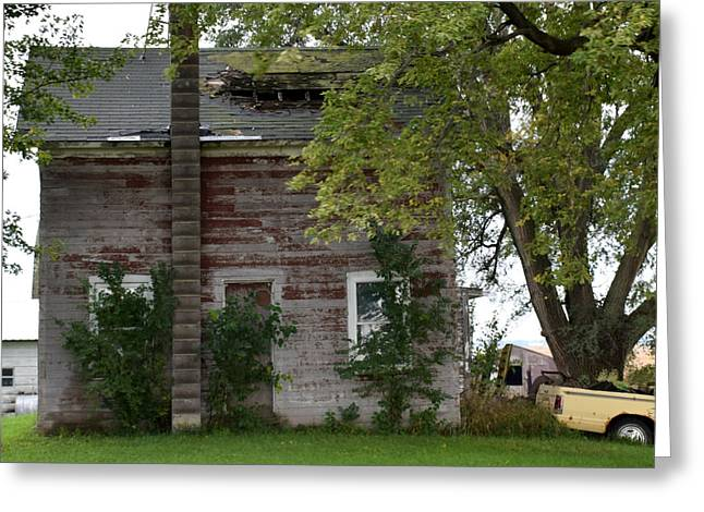 Vision Of Abandon Country Home II Greeting Card
