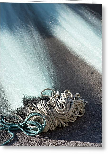 Vision Of Rope 2 Greeting Card