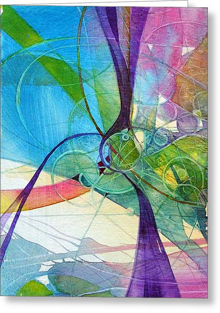 Visions In Motion Greeting Card